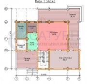 Проект Верона - План 1 этажа